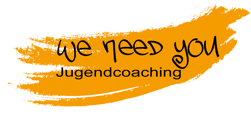 we need you · jugendcoaching | Logo